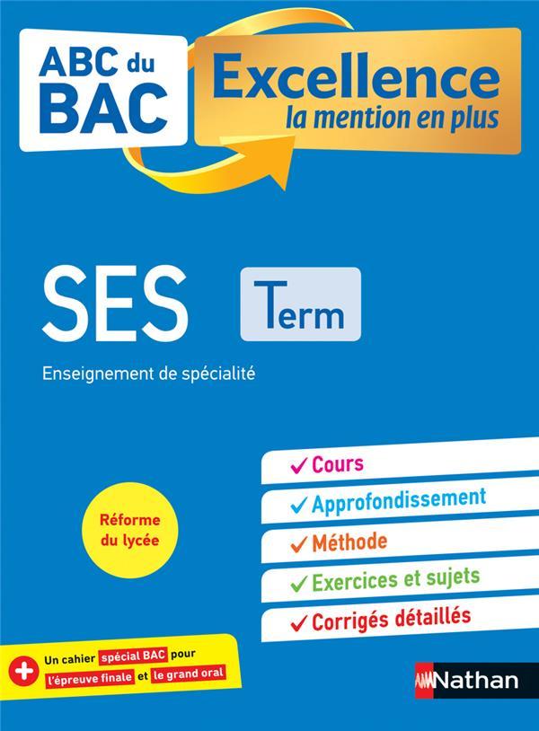 ABC DU BAC EXCELLENCE T.12 ; sciences économiques et sociales ; terminale (édition 2020)