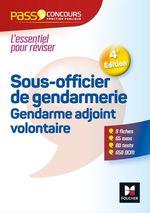 Vente Livre Numérique : Pass'Concours Sous-officier de gendarmerie / Gendarme adjoint volontaire  - Valérie Beal - Rosa Lüthi - Véronique Saunier - Anne Ducastel