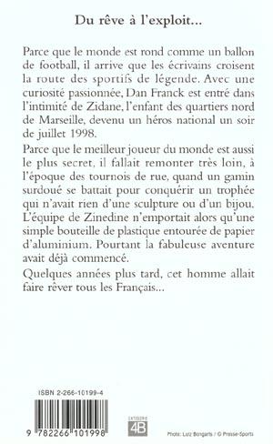 Zinedine zidane ; le roman d'une victoire