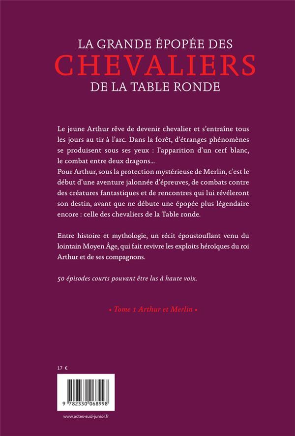 la grande épopée des chevaliers de la Table ronde t.1 ; Arthur et Merlin