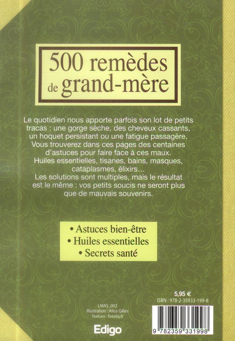 500 remèdes de grand-mère