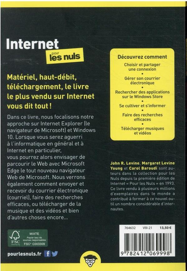 Internet poche pour les nuls (20e édition)