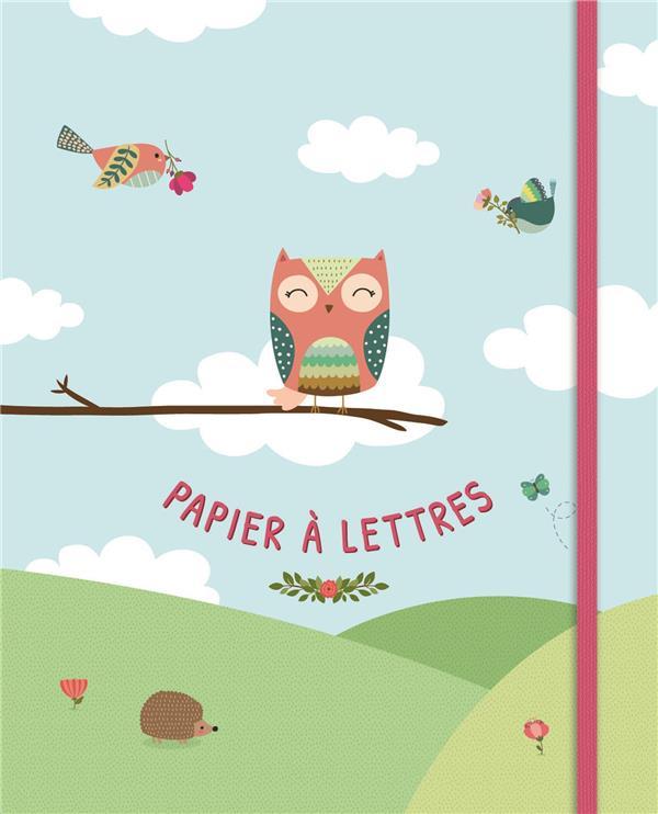 Papier à lettres - oiseaux