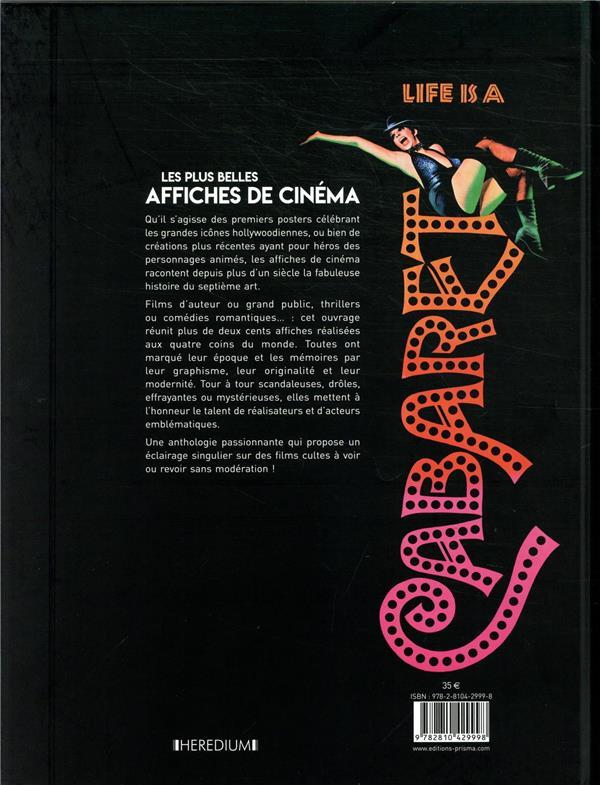 Les plus belles affiches de cinéma ; une autre histoire du 7e art