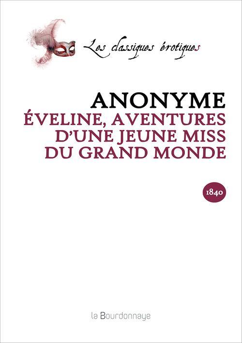eveline, aventures d'une jeune miss du grand monde