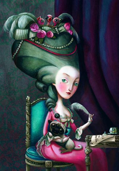 Marie-Antoinette ; carnet de notes