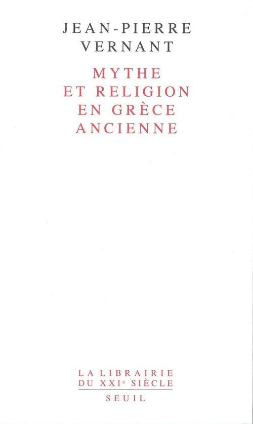 Mythe et religion en grece ancienne