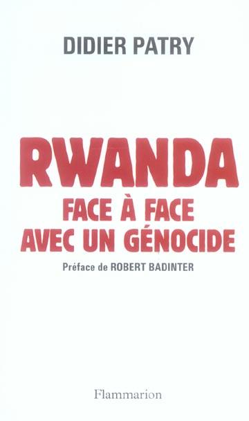 Rwanda, face a face avec un genocide
