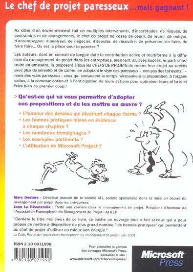 Le chef de projet paresseux... mais gagnant ! - 2eme edition (2e édition)