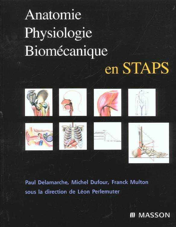 Anatomie, physiologie, biomecanique en staps
