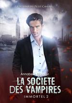 Vente EBooks : La societe des vampires - immortel tome 2  - Annabelle Blangier