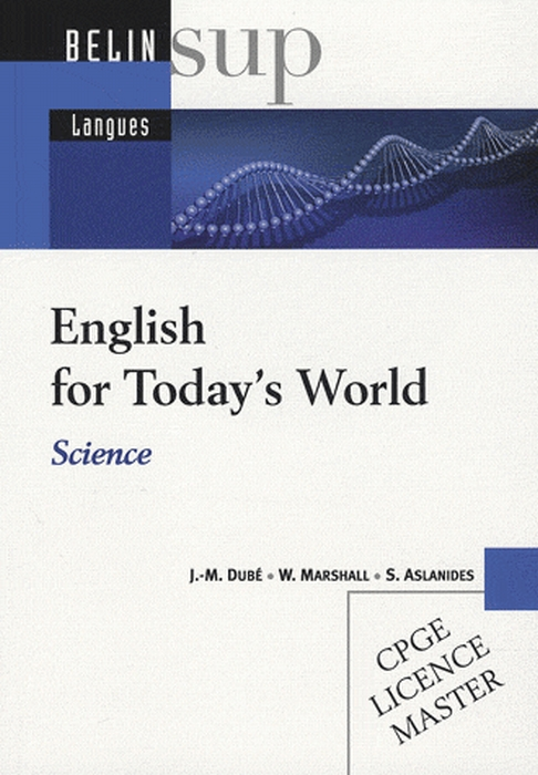 English for today's world ; CPGE, licence, master