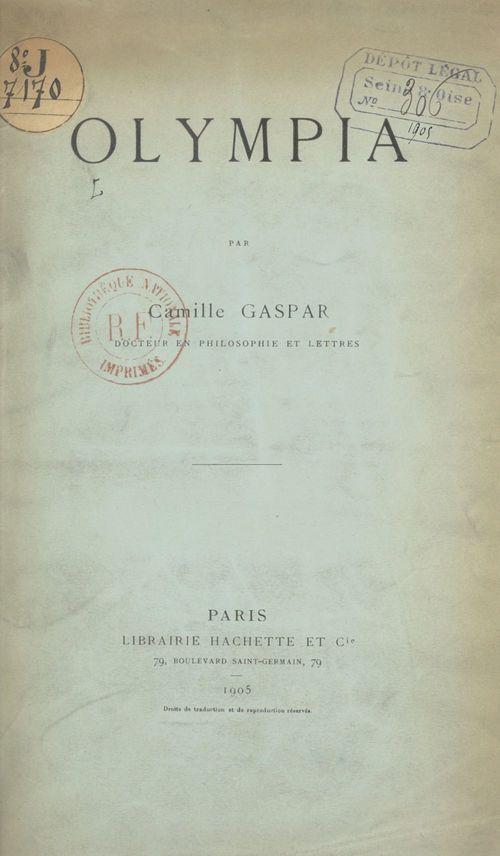 Olympia  - Camille Gaspar