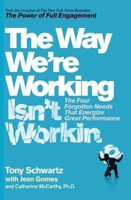 WAY WE'RE WORKING ISN'T WORKING (LIVRE EN ANGLAIS)