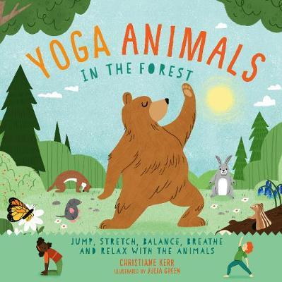 YOGA ANIMALS IN THE FOREST (LIVRE EN ANGLAIS)