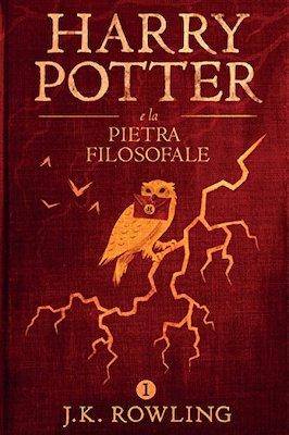 HARRY POTTER E LA PIETRA FILOSOFALE 1 (LIVRE EN ITALIEN)