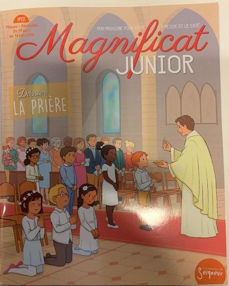 MAGNIFICAT JUNIOR NO 155: 19 AVRIL - 14 JUIN 2020