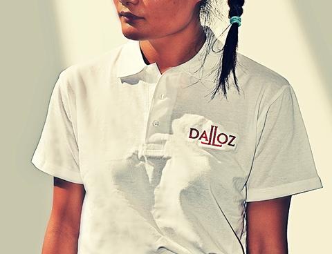 POLO DALLOZ BLANC