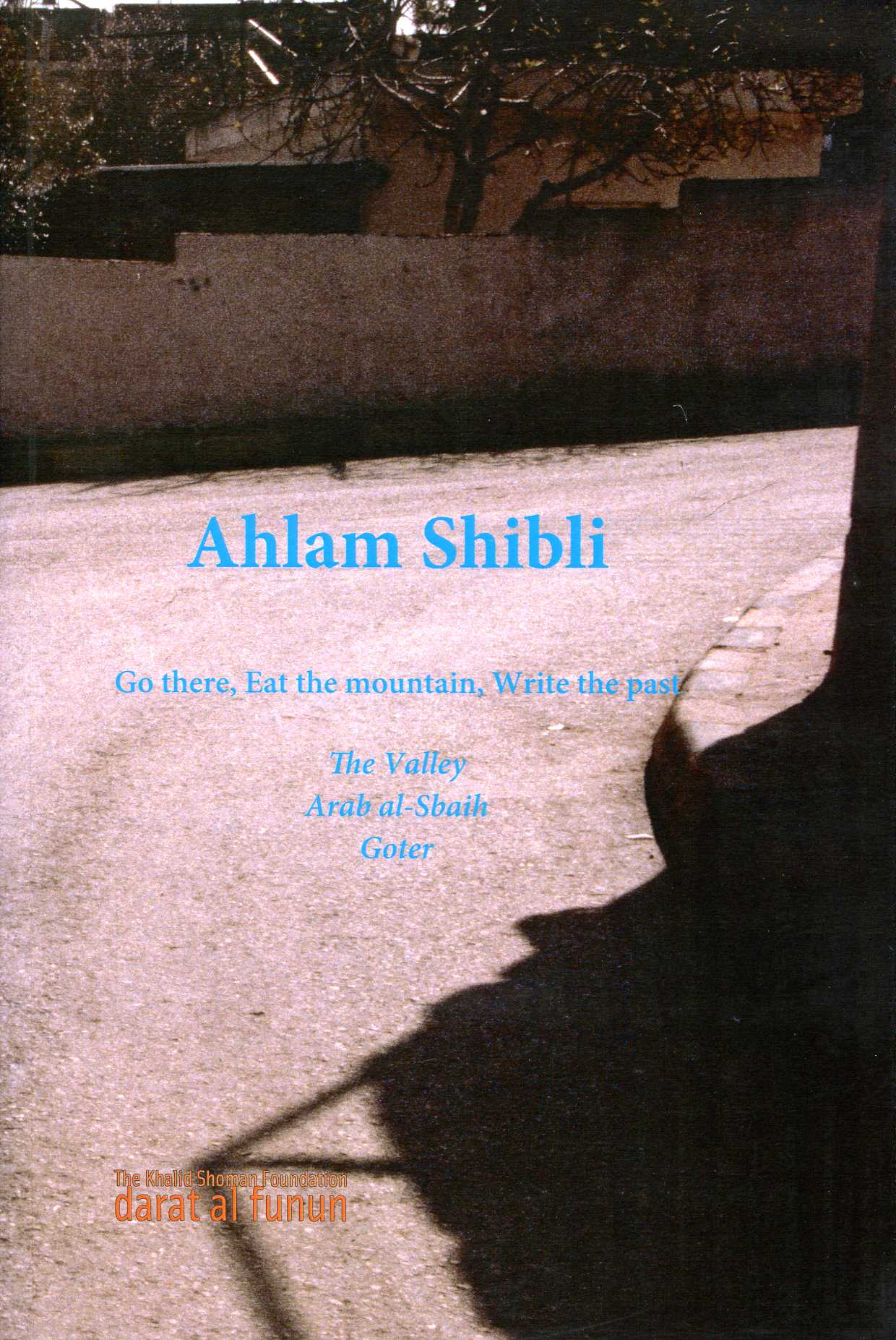 AHLAM SHIBLI GO THERE, EAT THE MOUNTAIN, WRITE THE PAST