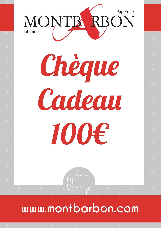 CHEQUE CADEAU - 100€