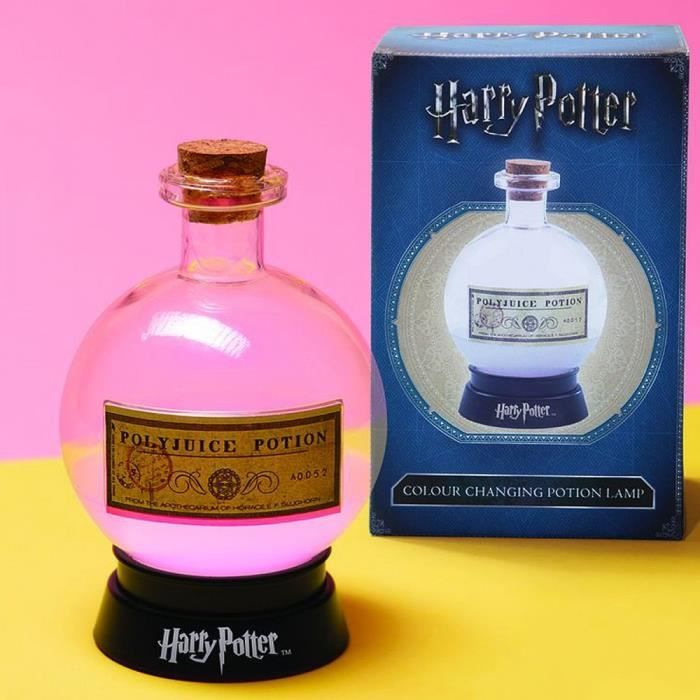 LAMPE POTION POLYNECTAR HARRY POTTER