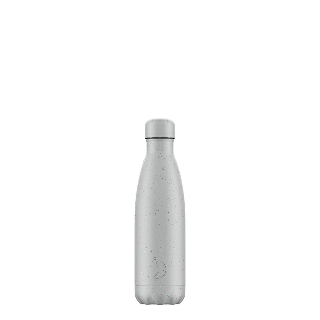 CHILLY'S BOTTLE 500 ML SPECKLE COOL GREY