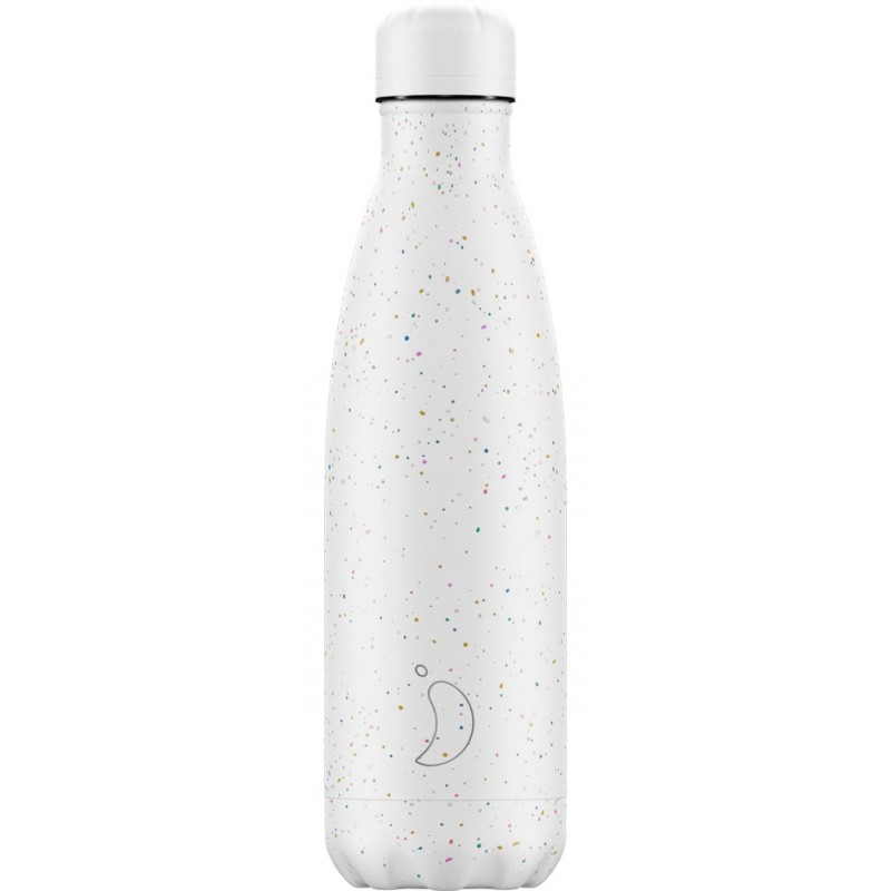 CHILLY'S BOTTLE 500 ML SPECKLE WHITE