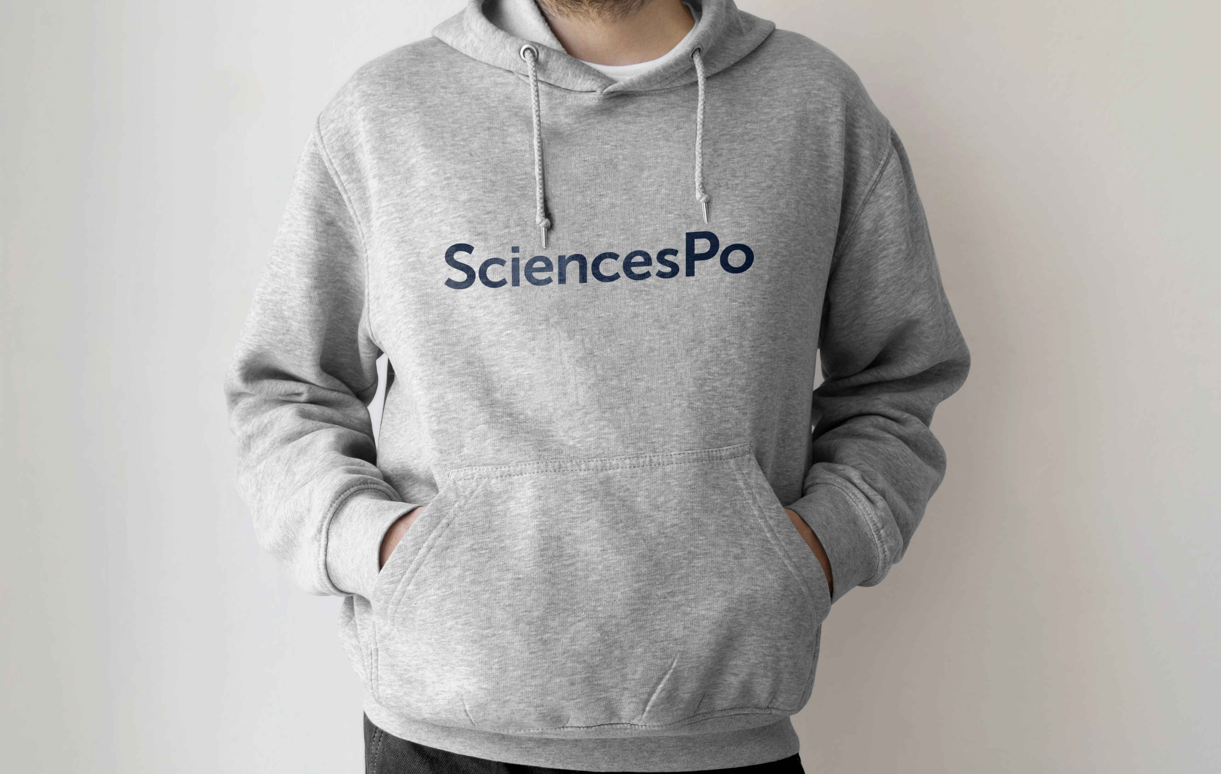 SWEAT SMALL GRIS SCIENCES PO UNISEXE