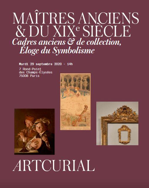 MAITRES ANCIENS & DU XIXÈME SIÈCLE  CADRES ANCIENS ET DE COLLECTION, ELOGE DU SY
