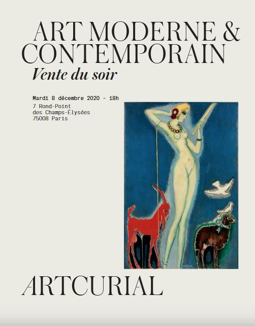 ART MODERNE & CONTEMPORAIN VENTE DU SOIR