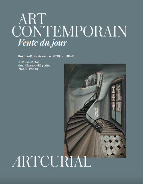 ART CONTEMPORAIN - VENTE DU JOUR
