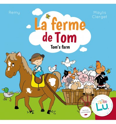 LA FERME DE TOM - TOM'S FARM -ALBUM BILINGUE 2/6 ANS