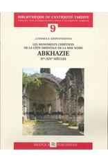 LES MONUMENTS CHRETIENS COTE O. MER NOIRE ABKHAZIE IVE-XVIE SIÈCLES