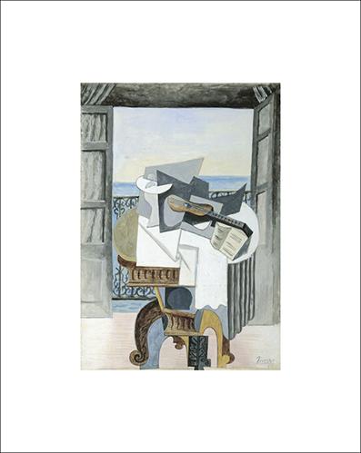 PICASSO LA TABLE DEVANT LA FENETRE 1939 32*22 26