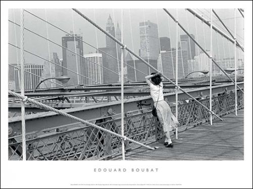 BOUBAT, PONT DE BROOKLYN NEW YORK, 50X70