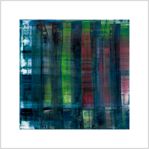 RICHTER ABSTRACT PAINTING 1992 70*70