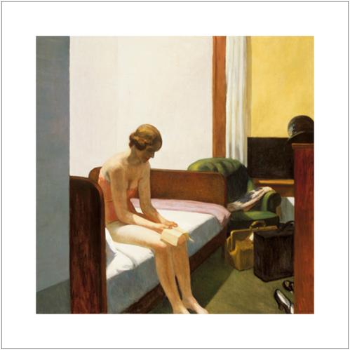 HOPPER, CHAMBRE D'HOTEL 1931, 70*70