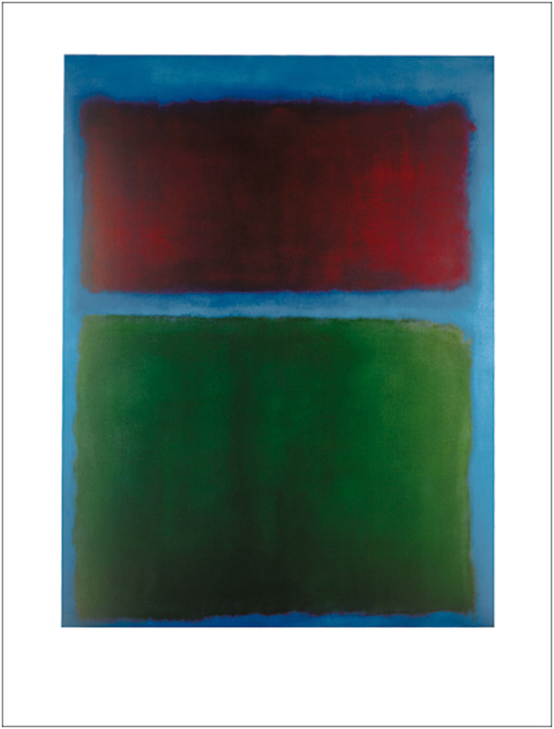 ROTHKO EARTH AND GREEN 60*80