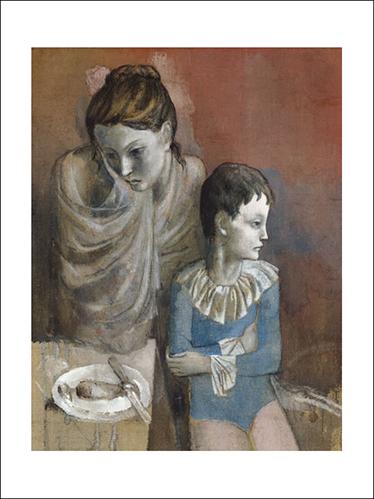 PICASSO, MÈRE AVEC ENFANT 1905, 60X80