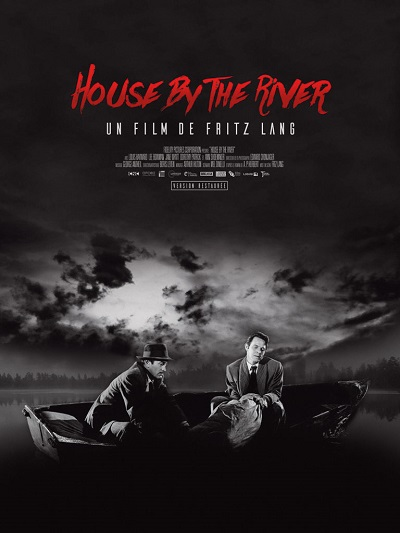 AFFICHE // HOUSE BY THE RIVER 40 X 60