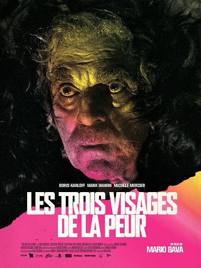 AFFICHE // LES TROIS VISAGES DE LA PEUR 40 X 60