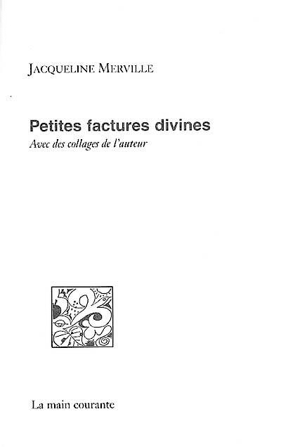 PETITES FACTURES DIVINES