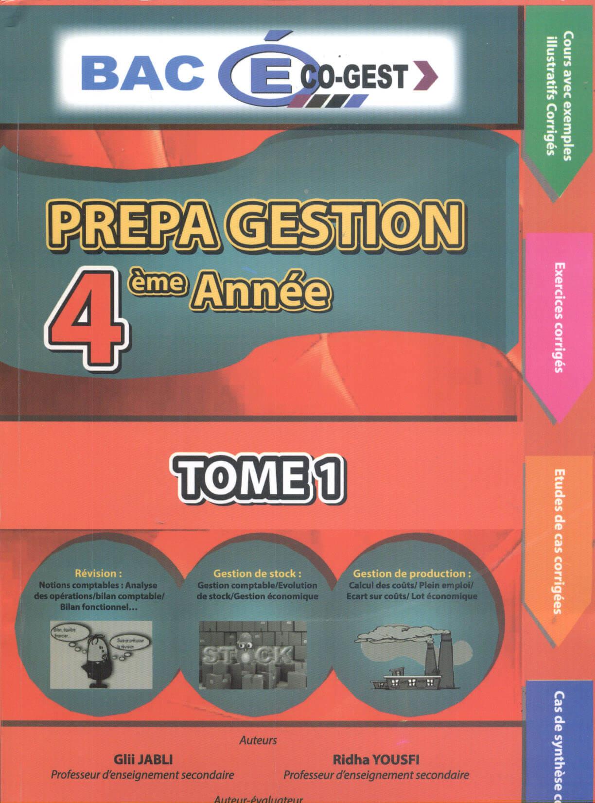 PREPA GESTION 4EME ANNEE T1