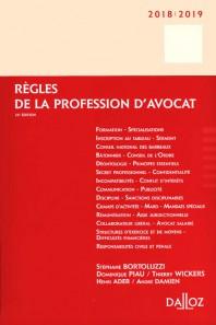 Règles de la profession d'avocat (édition 2018/2019)